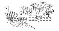 Передній противагу (10 блоків баласту)опція на YTO-X1104, фото 1