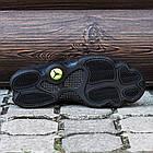 """Баскетбольные кроссовки Air Jordan 13 Retro """"Black Cat"""" (Найк Аир Джордан 13 Ретро) в стиле черные, фото 4"""