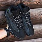 """Баскетбольные кроссовки Air Jordan 13 Retro """"Black Cat"""" (Найк Аир Джордан 13 Ретро) в стиле черные, фото 6"""