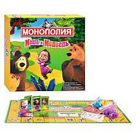 """Настольная игра """"Монополия Маша и Медведь"""" 2832 R-9"""