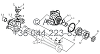 Поворотный кулак на YTO-X1104