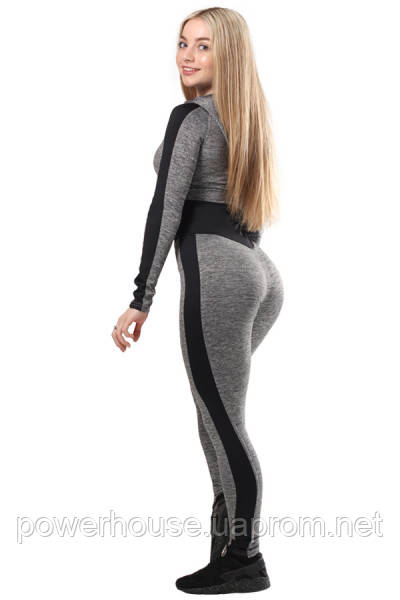 Комбинезон для йоги Berserk MELANGE grey - купить по лучшей цене в ... 14d091553fb