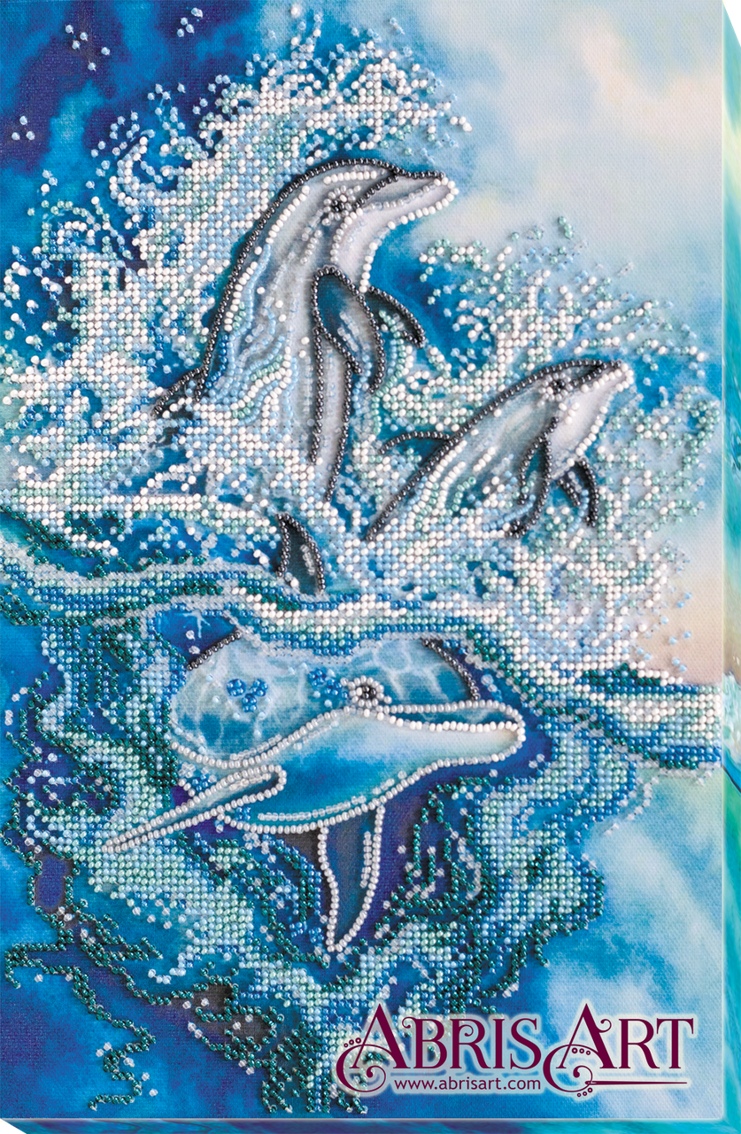 Набор для вышивания бисером Рассекая волны