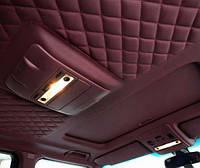 Ремонт - переклейка потолков автомобилей