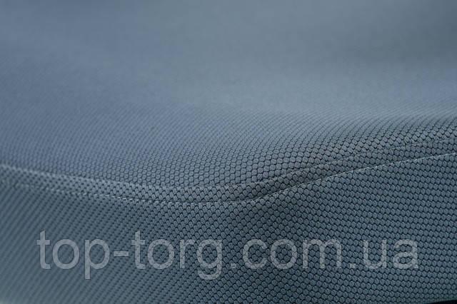 Кресло руководителя, офисное TUNE SLATEGREY/BLACK серо-черное E5494. Материал обивки сиденья серая ткань.