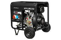 Дизельный генератор HYUNDAI DHY6000LE-3 5.0-5.5 кВт