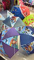 Копия Зонт детский 3Д трость, зонт для детей мультики