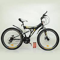 Спортивный велосипед MAXIMA T26-726 Black 26 дюймов. Дисковые тормоза.