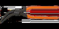 Клещи изогнутые 45', NEO  31-075