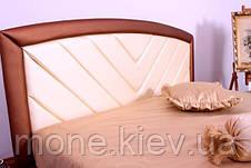 """Кровать """"Анастасия"""" двуспальная с мягким изголовьем и подъемным механизмом + 2 подушки, фото 3"""