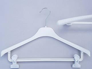 Плічка V-Tz42, білого кольору, довжина 42 см
