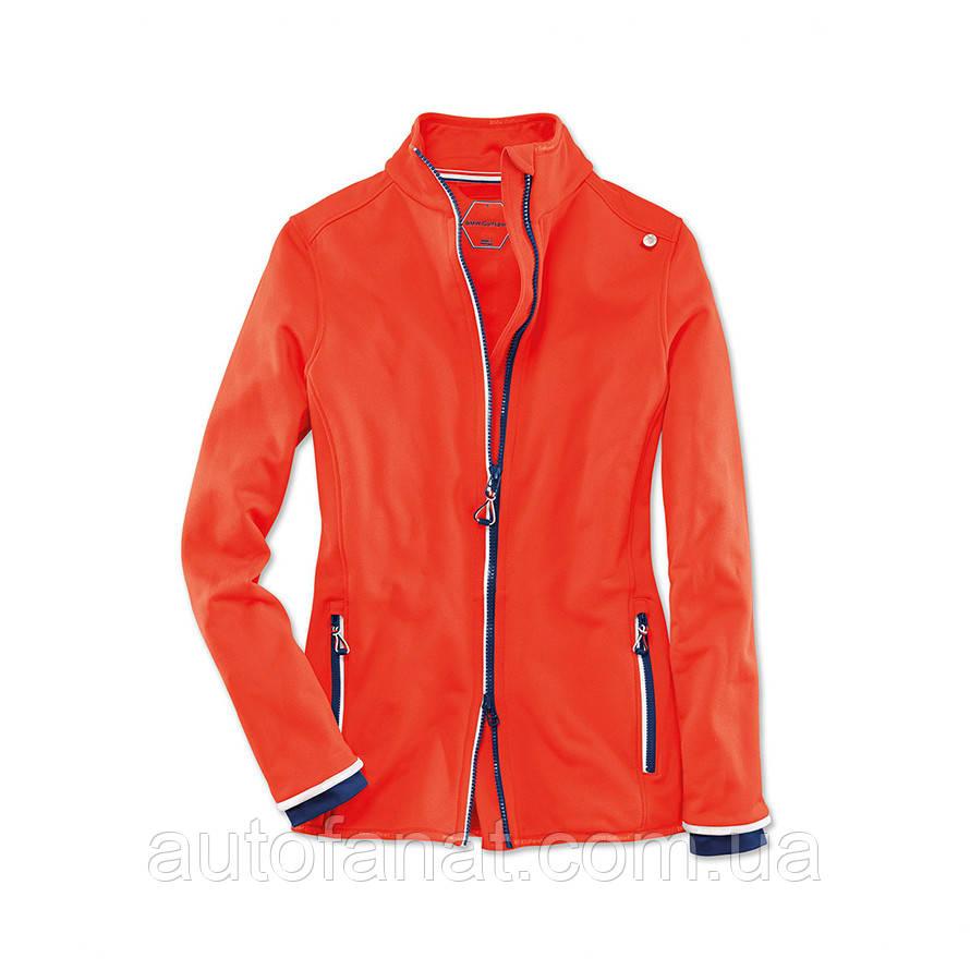 Оригинальная женская флисовая куртка BMW Golfsport Fleece Jacket, Ladies, Fire (80142446347)