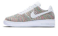 """Женские кроссовки Nike Air Force 1 Low Flyknit """"Multi-Color"""""""