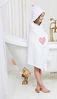 Полотенце с капюшоном для детей 65х135 SOFI  девочкам