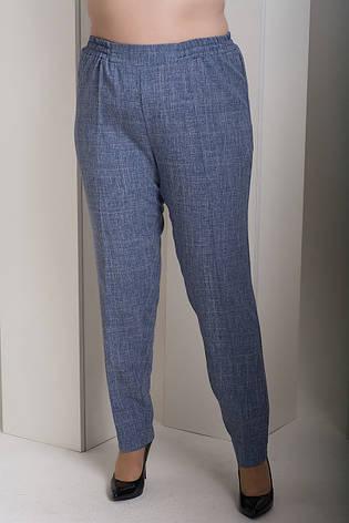 Брюки без застежек для полных женщин Вог джинс, фото 2