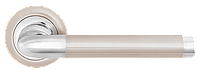 Дверные ручки LINDE A-1209 SN/CP - матовый никель/хром