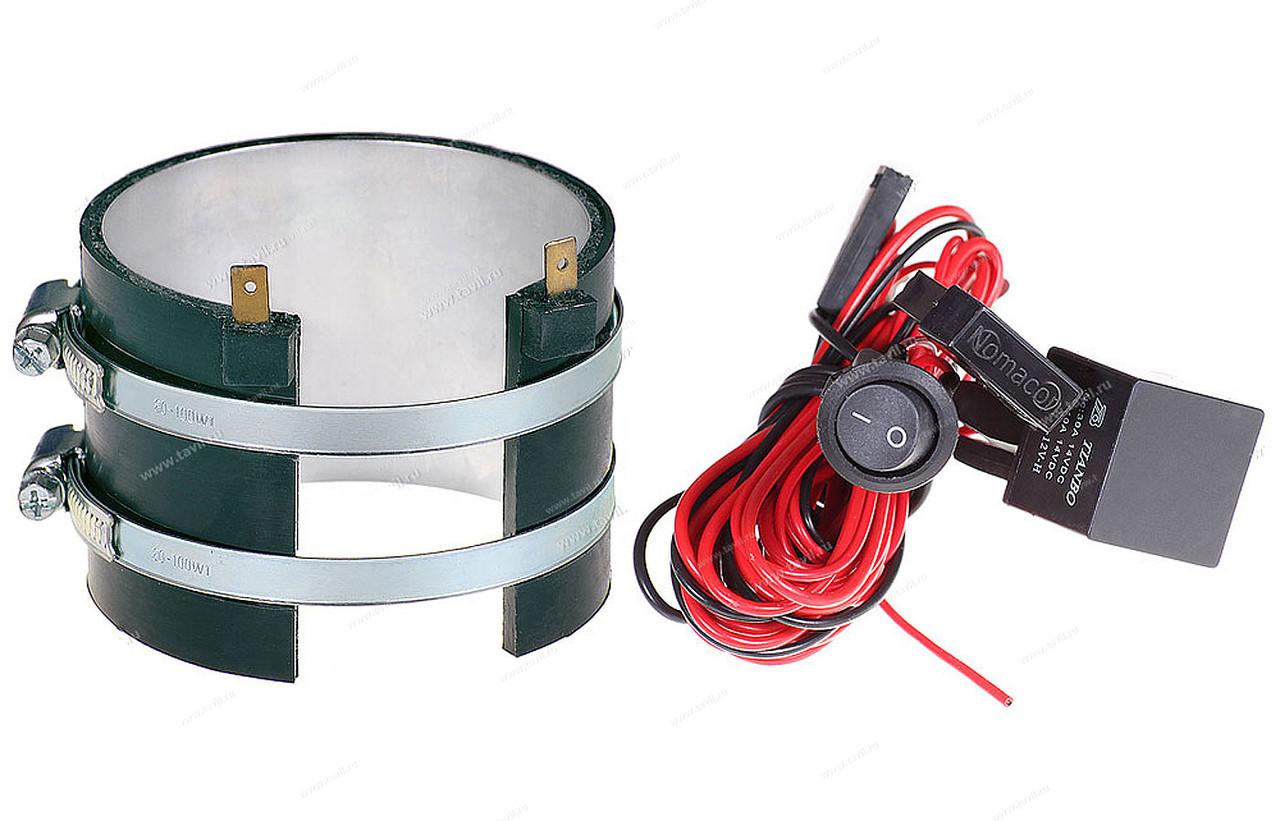 Подогреватель фильтра тонкой очистки ПБ(Н67), Номакон, 100 Вт, 24В, (Ø 73-86 мм)