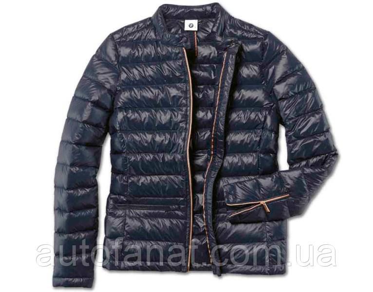 Оригинальная женская пуховая куртка BMW Soft Down Jacket, Ladies, Dark Blue (80142454574)