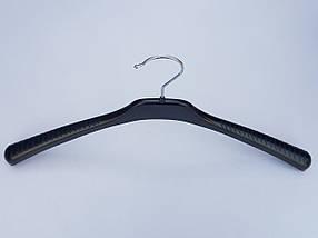 Плічка V-T46 чорного кольору, довжина 46 см, фото 3