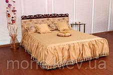 """Кровать """"Монника"""" двуспальная с мягким изголовьем и подъемным механизмом + 2 подушки, фото 2"""