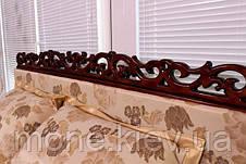 """Кровать """"Монника"""" двуспальная с мягким изголовьем и подъемным механизмом + 2 подушки, фото 3"""
