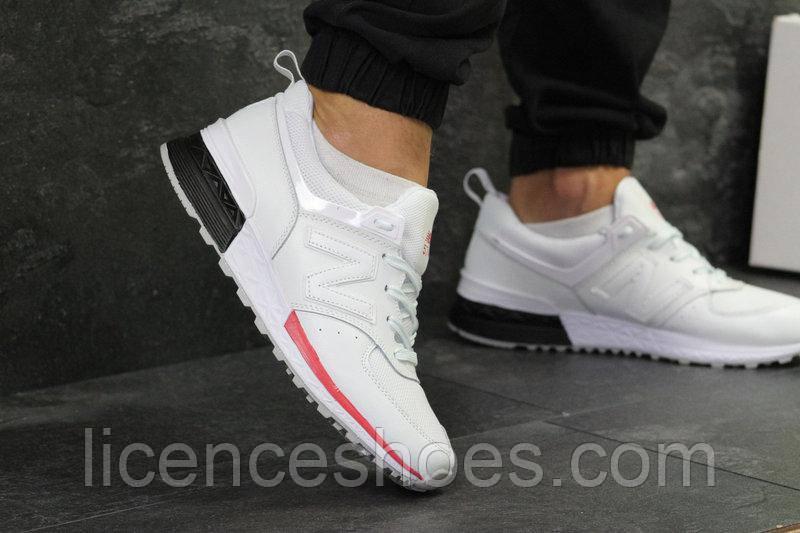 Мужские кроссовки New Balance 574 White. Последняя пара 44 - на длину ноги 28см стелька по факту 28.5см