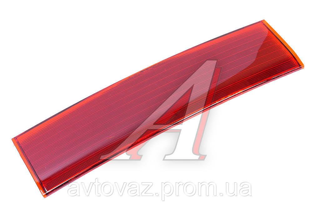 Накладка (отражатель) ВАЗ 2110 крышки багажника (красная) в сборе