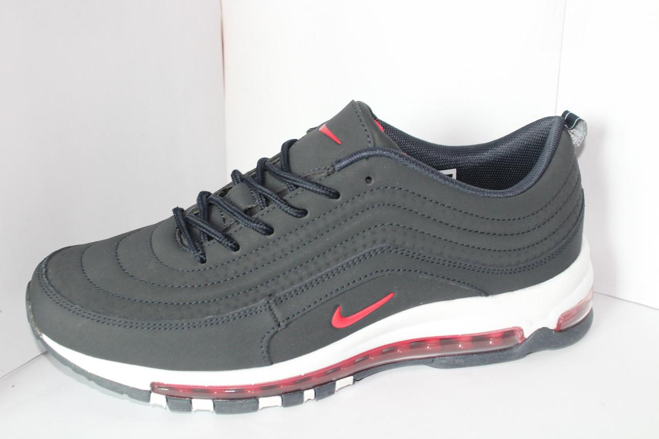 781f2a24 Мужские осенние кроссовки Nike на шнуровке с подошвой на баллоне на шнурке  - Фирменная обувь в