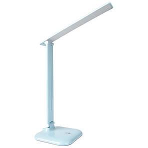 Настільна LED-лампа Feron DE1725 30LED 9W 6400K, блакитна, фото 2