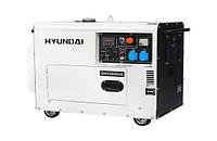 Дизельный генератор HYUNDAI DHY6000SE 5.0-5.5 кВт