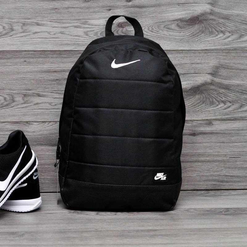 Спортивный рюкзак в стиле Nike Air черный