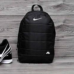 Качественный городской спортивный рюкзак Nike Air найк Черный ViPvse