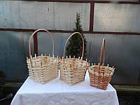 Подарочная плетеная корзинка из лозы, фото 1