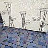 "Подставка кованая для цветов ""Спираль"" на 5 вазонов , фото 4"