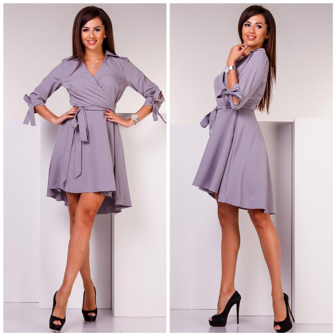 fde5484658f1 Красивое женское платье цвет бордо - Стильная женская одежда оптом, платья  макси и мини,