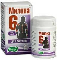 Милона  - 6 (Эвалар) – травяные таблетки для восстановления суставов