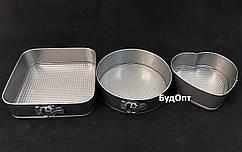 Разъемная форма для выпечки набор 3шт металл Stenson (MH-0122)