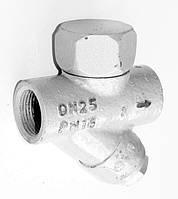 Конденсатоотводчик термодинамический TDK-5M (D311) муфтовый Ду25 Ру16