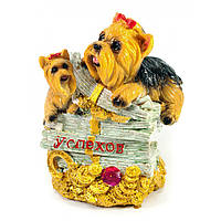 Копилка сувенир из полимера Собака