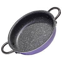 Сковорода глубокая Fissman MINI CHEF 17 см. (Каменное антипригарное покрытие) , фото 1