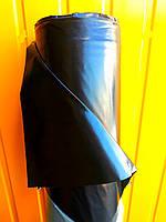 """Пленка черная, 110мкм 6м/50м """"Союз Планета Пластик"""" полиэтиленовая (для мульчирования,для хризантем), фото 1"""