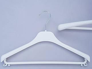 Плічка V-Tp38 білого кольору, довжина 38 см