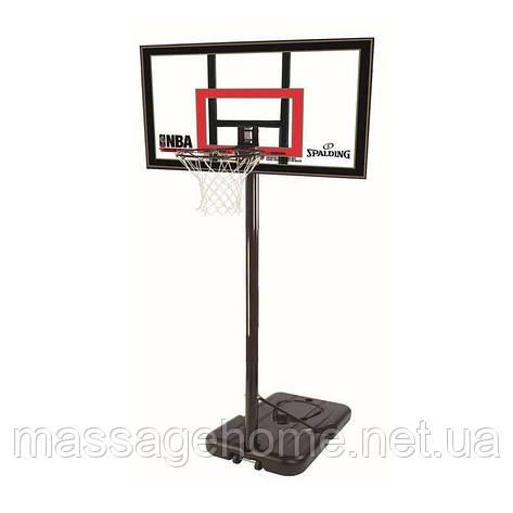 """Баскетбольная стойка Spalding Highlight Acrilic Portable 42"""" 77799CN, фото 2"""