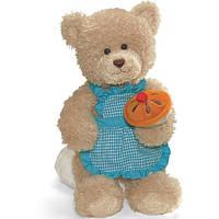 """Плюшевая медведица """"Маленькая хозяюшка с кексом"""""""
