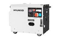 Дизельный генератор HYUNDAI DHY6000SE-3 5.0-5.5 кВт
