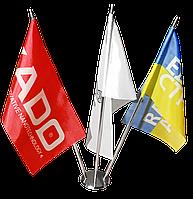 Флажки настольные с логотипом