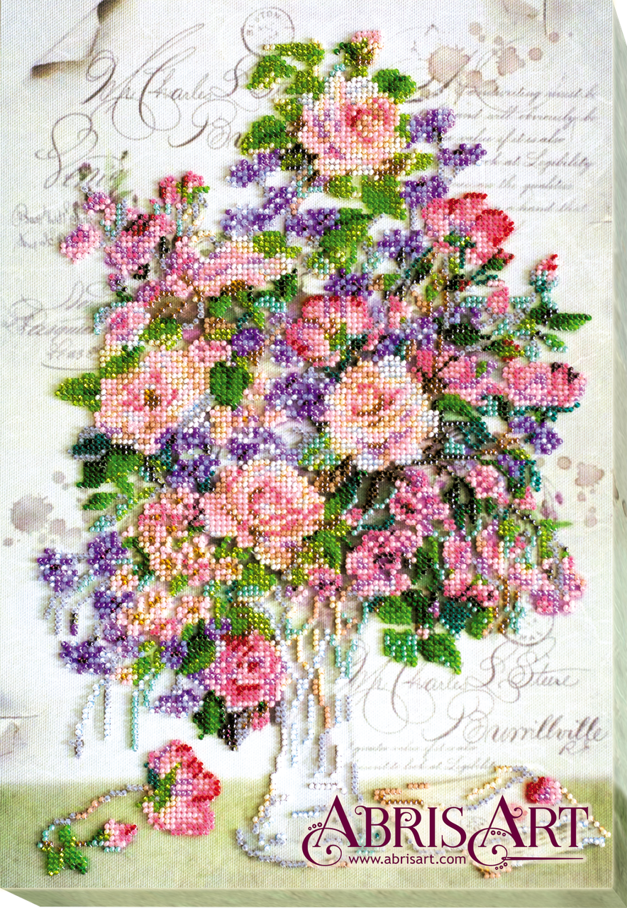 Набор для вышивания бисером Любимого почерк