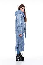 Пальто  стеганое  длинное  большие размеры 48-60, фото 3