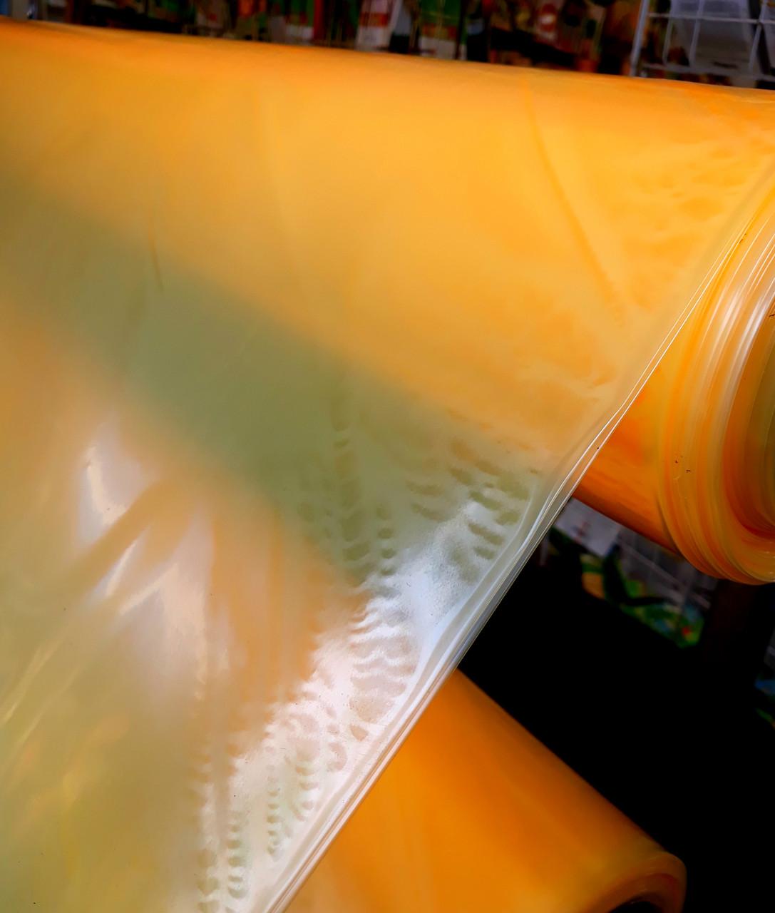 Плівка теплична на метраж 100мкм, 6м ширина, уф-стаб. 24 місяці ,(помаранчева, синя).
