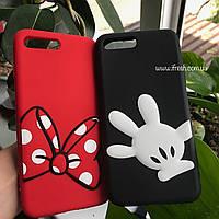 Чехол силиконовый Мини Маус для iPhone 7 Plus